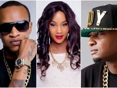 Shoot me! Colonel Mustapha dares Prezzo as he cozies with his ex