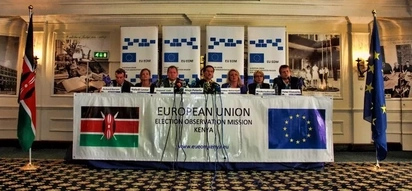 It's sheer luck that Kenyans did not fight during the election period - EU report