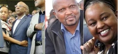 Photo of Jubilee leaders doing the Wanjigi Challenge stirs the internet