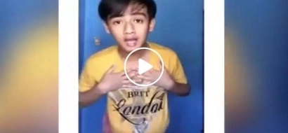 This viral boy did it again! Young Pinoy records video of himself dancing to Nido's commercial jingle