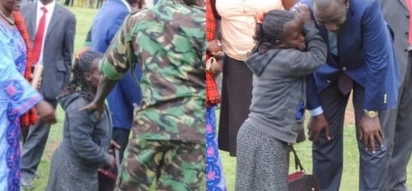 DP William Ruto meets old female friend and gives her KSh 100,000 (photos)