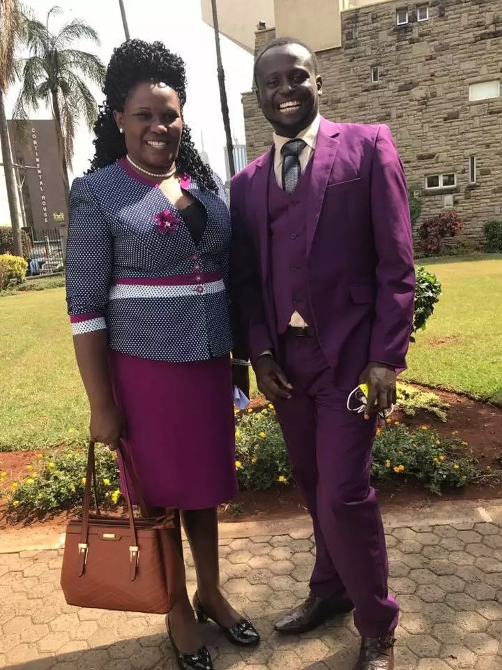 Newly-elected female MP brings along husband to parliament and its the cutest thing you will see today