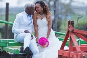 The photos from Daddy Owen's wedding that you have never seen a year since it happened