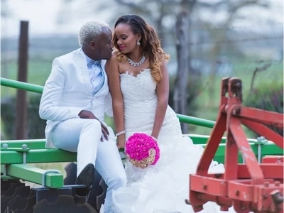 Never-seen-before stunning photos from gospel singer Daddy Owen's glamorous wedding