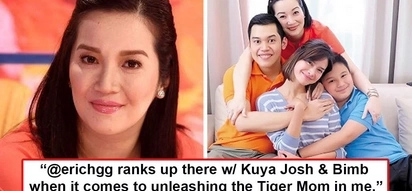 Feeling nanay si Teta! Kris Aquino reveals real reason why she immediately defended Erich Gonzales when 'kabit' issue erupted