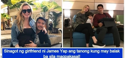 May balak ba sila magpakasal? Michela Cazzola and James Yap reveal if they have plans on getting married