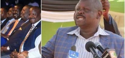 Isaac Ruto akohoa na kukana madai ya kujiunga na Jubilee
