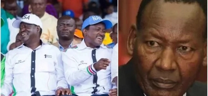 Touch Raila and see what happens, Kalonzo dares Nkaissery