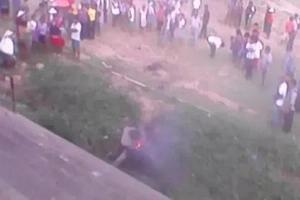 Hombre que se robo una moto fue quemado vivo en Entre Ríos