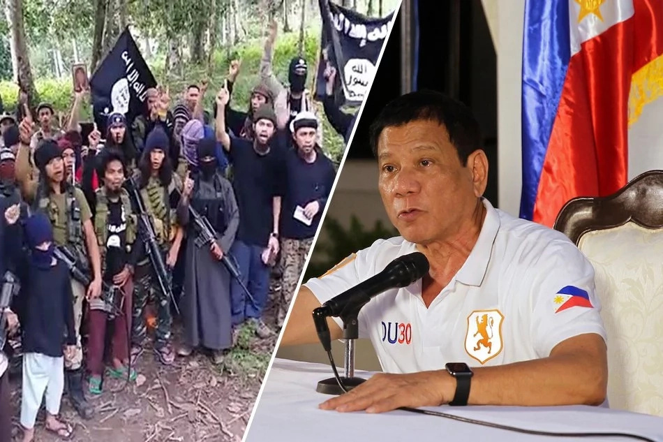 Duterte vows to destroy bandit group Abu Sayaff