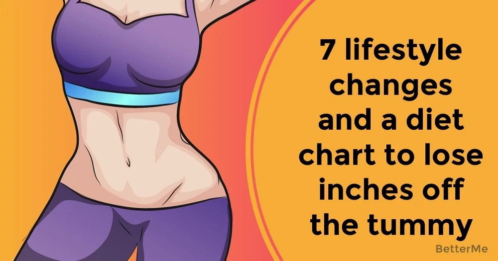 7 lifestyle changes and a diet chart to lose inches off the tummy