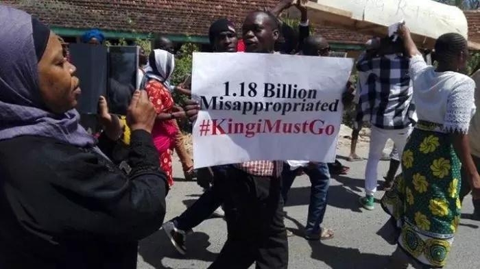 CHAOS in Kilifi after Raila Odinga's visit