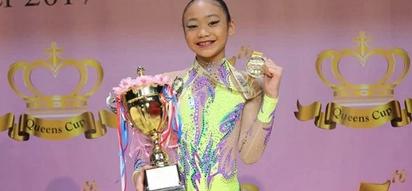 Lodi! 11-year-old Filipina gymnast wins 3 gold medals in Hong Kong