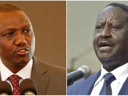 Ruto, Raila clash at devolution conference over proposal to change governance structure