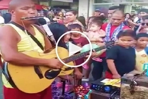 Blind musician in Olongapo City wows netizens with his Meteor Garden theme song performance