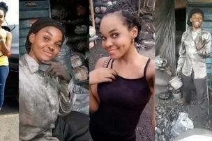 Huyu binti mrembo 'kumliko' Vera Sidika anayefanya kazi chafu ili kujinasua na umaskini
