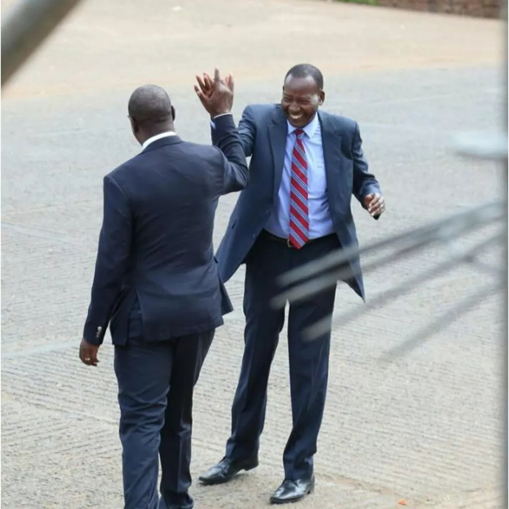 CS Joseph Nkaissery's last public appearance before he met his untimely death (photos)