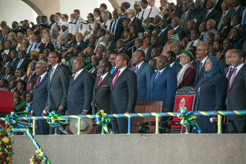Magufuli skips Uhuru swearing-in ceremony, sends vice president