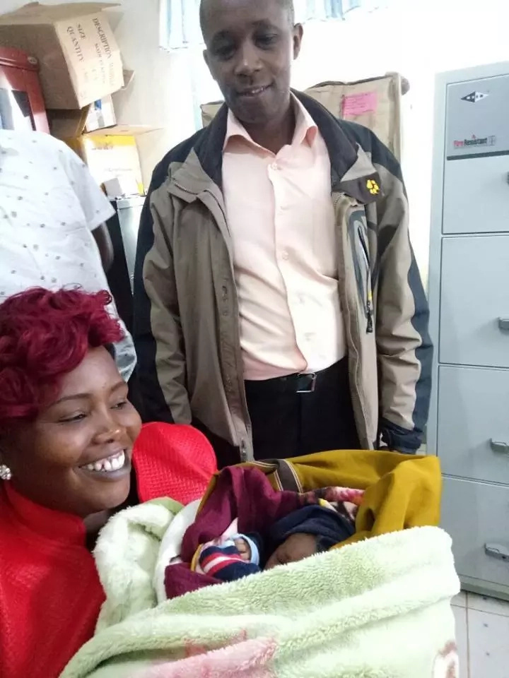 Drunk woman throws her newborn baby into a bush in Kiambu (photos)