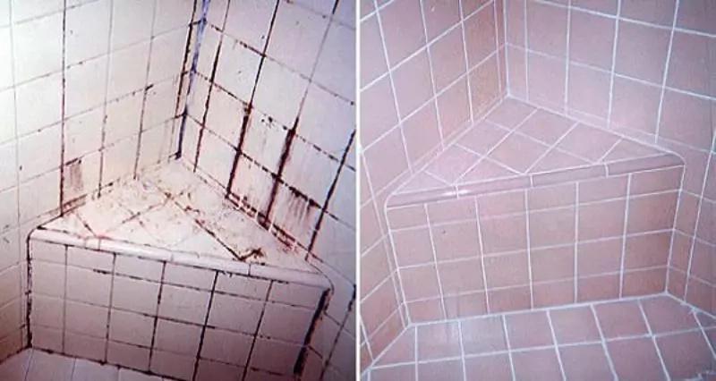 Nunca pensaste que limpiar los azulejos de tu baño sería tan sencillo, ¡pues prueba esta mezcla!