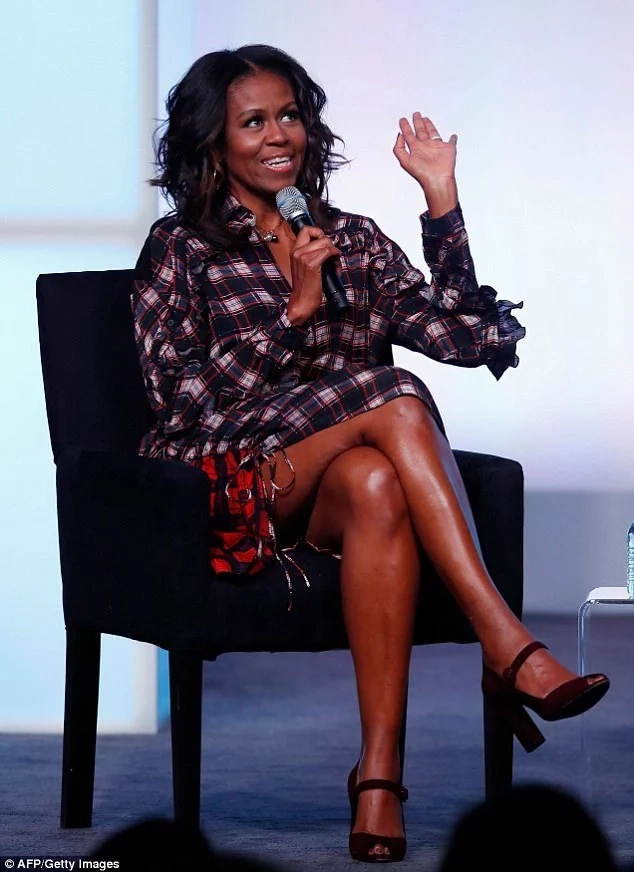 Is this true? Michelle Obama claims men feel entitled because women protect them too much