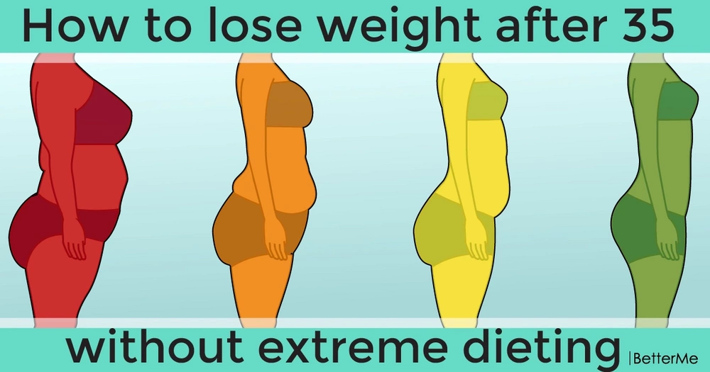 How to lose weight after 35 without extreme dieting