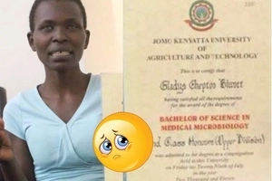 Kenyan girl who aced Microbiology degree course from JKUAT now sells boiled eggs in the streets, details