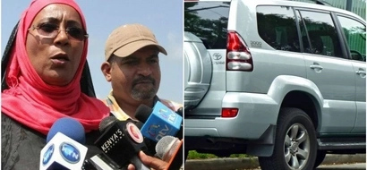 Toyota Prado rolls several times with MP inside