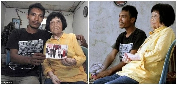 Man, 28, fell in love with woman's voice, discovered she's 82 but MARRIED her anyway (photos)