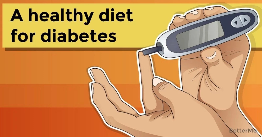 A healthy diet for diabetes