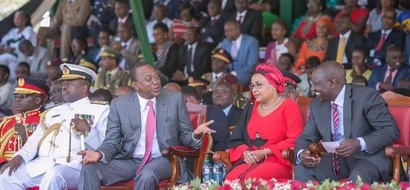 Uhuru's message to Raila after rejecting Madaraka Day invite