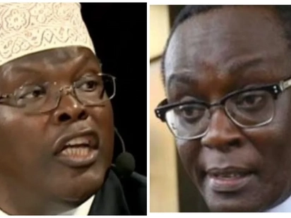 Mr Professional conman, has NYS loot made you insane? - Miguna Miguna fires back at Mutahi Ngunyi