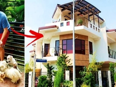 Sobrang bongga pala ni Sweet! Check out John Lapus luxurious 3-story townhouse in Quezon City!