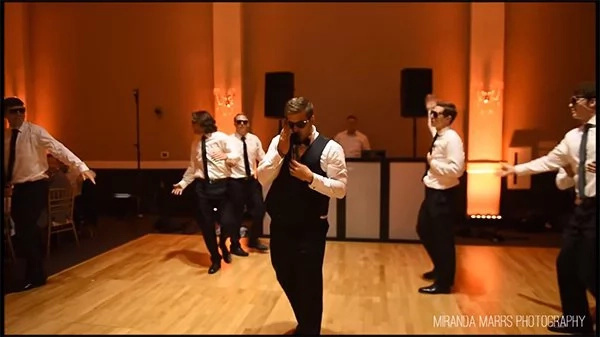 This groomsmen dance will make you LOL!