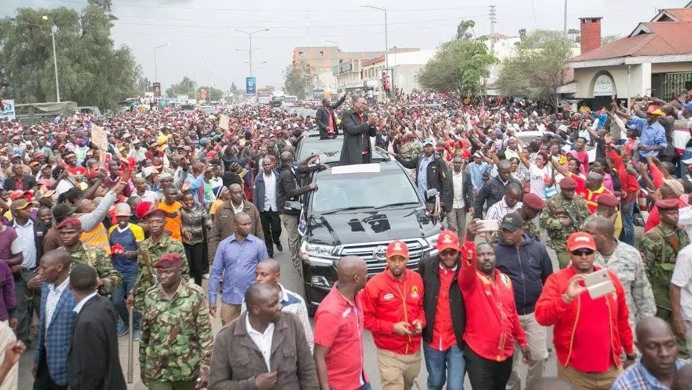 Uhuru's obedience to the law greatly outsmarts Raila's penchant for selfish personal demands in guise of fight for democracy
