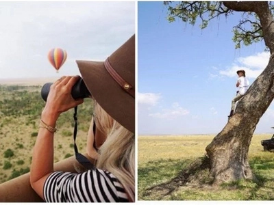 Harry Potter actress honey moon photos from Kenya are the best thing you'll see on the internet