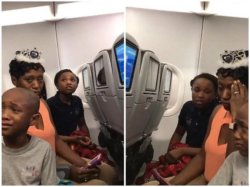 Family kicked off plane in bitter confrontation over birthday cake