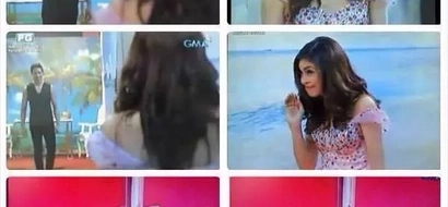 Remember #AlDubBattleForACause: The first meeting of Alden Richards and Yaya Dub