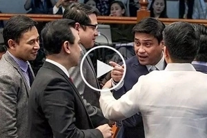 Sagupaan sa Senado! Trillanes' heated confrontation with Zubiri during BI probe caught on video