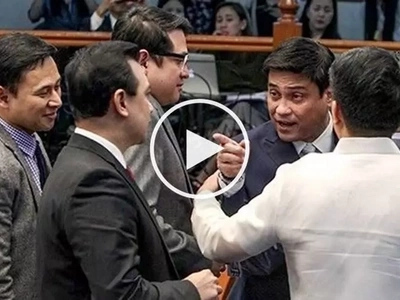 Trillanes vs Zubiri sa Senado! Furious senators' heated confrontation during BI probe caught on video