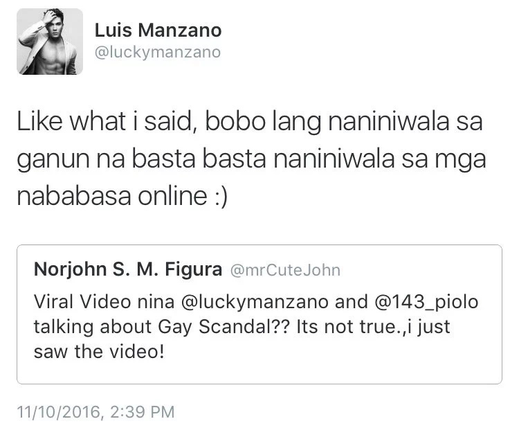 4 times Luis Manzano responded harshly to netizens