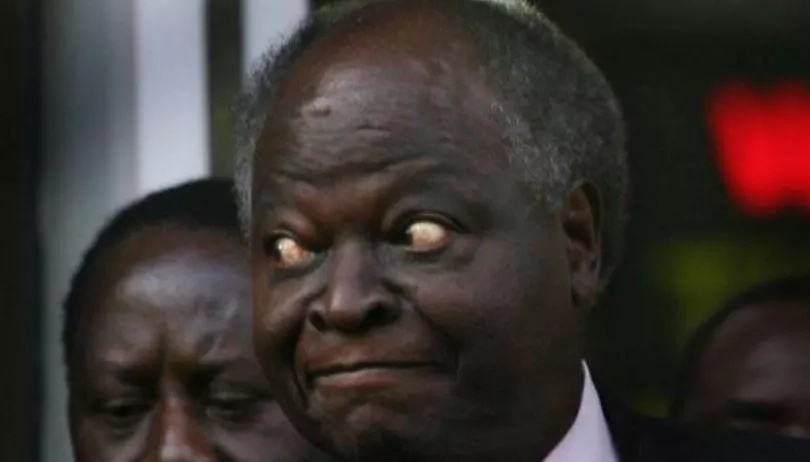 MP banned Kibaki from wife's funeral