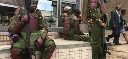 Usalama waimarishwa Nairobi huku NASA wakiandamana dhidi ya IEBC (picha)
