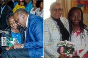 Nine-year-old Kenya poet who wished to meet Uhuru has her wish come true (photos)