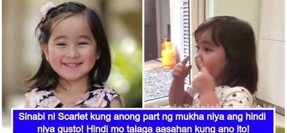 Nakakawala ng stress! Scarlet Snow Belo reveals the part of her face that she doesn't like