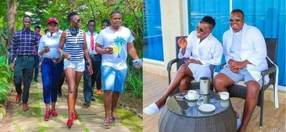 Akothee's love affair with manager sent his dad to rehab - source reveals