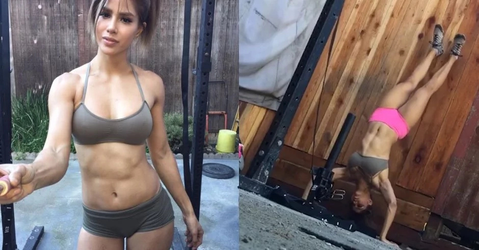You Can Watch This Sexy Filipino Crossfitter's Intense Workout Forever And Ever