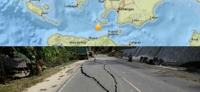 Horror as 5.2 magnitude earthquake rocks Tingloy Island in Batangas
