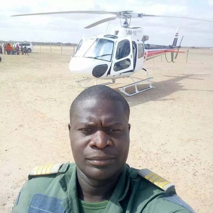 In Kenya the helicopter with journalists fell into the lake