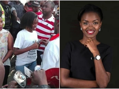 A photo story of the hot and ambitious 23-year-old lady who wants to be Nairobi senator